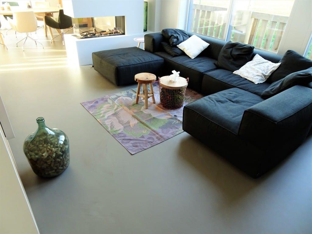 Betonlookvloeren Huiskamer Zeeland