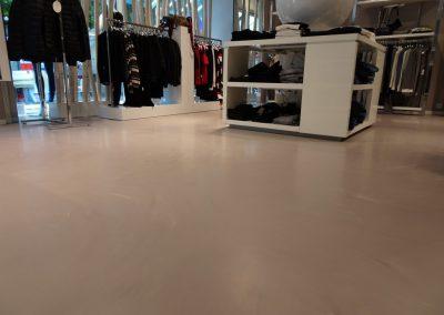 Gietvloer in kledingwinkel HIP&TOF Beuningen – Nijmegen