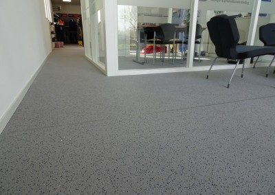 Grindvloer showroom Gemert
