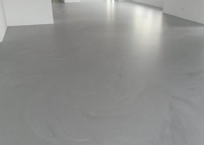 Polyurethaan betonlook gietvloer Deurne