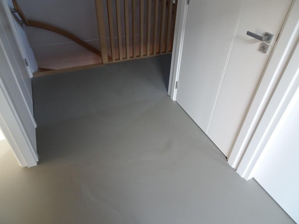 Pu betonlook gietvloer zeeland betonlookvloeren.nl