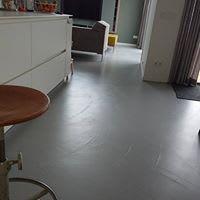 Cementgebonden gietvloer Eindhoven Tele Grigio